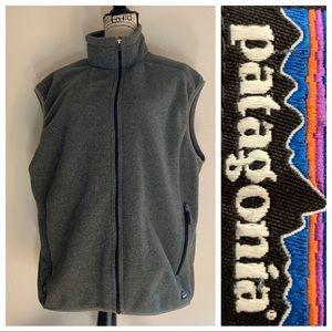 Patagonia Synchilla Men's Gray Fleece Vest XL